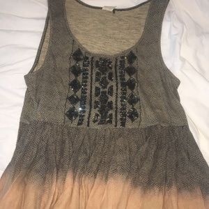 Peplum Tank Top from Anthropologie